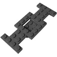 Plaka 4x10 Araç Tabanı Şasi - Siyah