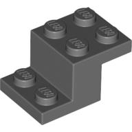 Z-Form Köşebent Plaka 2x3x1 - Yeni-Koyu-Gri