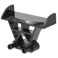 Araç Spoileri 3x4x6 Kanat - Siyah