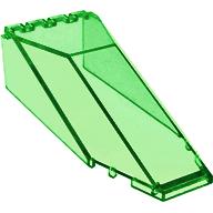 Ön Cam 10x4x2 Menteşeli - Şeffaf-Yeşil