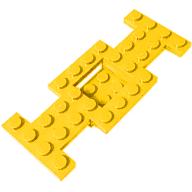 Plaka 4x10 Araç Tabanı Şasi - Sarı