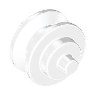 Direksiyon mafsallı mini Jant 2 Pimli - Şeffaf-Beyaz