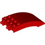 Ön Cam 8x4x2 Kavisli çift 2 Parmak - Kırmızı