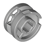 8 I-Parmaklı Teker Jantı çapraz delik Ø11x6 - Yeni-Gri