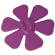 Bitki Çiçek - Pervane Ø61,84 - Menekşe