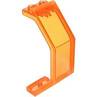 Cam Paneli 3x4x4 - Şeffaf-Neon-Turuncu