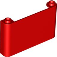 Dikey Ön cam 1x6x3 - Kırmızı