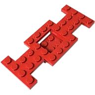 Plaka 4x10 Araç Tabanı Şasi - Kırmızı