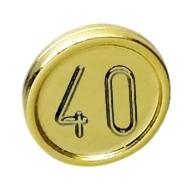ElementNo 70501310d - Chrome-Gold