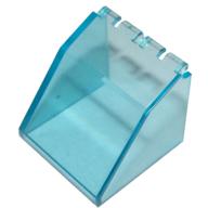 Ön Cam 4x4x3 Menteşeli - Şeffaf-Açık-Mavi
