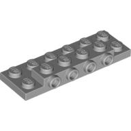 Yapı Taşı/Plaka +4 Yan Çıkıntı / Dönüştürücü 2x6 - Yeni-Gri