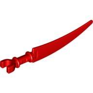 Mini Silah - Klipsli Kılıç - Kırmızı