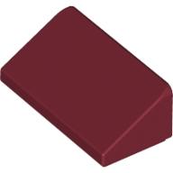 2/3 Çatı Taşı 1x2 - Koyu-Kırmızı