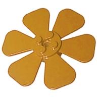Bitki Çiçek - Pervane Ø61,84 - Orta-Turuncu