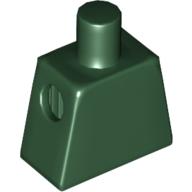 Mini Figür Gövdesi resim dekor baskısız 1x2 - Koyu-Yeşil