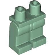 Mini Figür Bel Kalça ve Bacaklar 1x2 - Soft-Yeşil