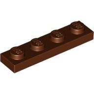 ElementNo 4211190 - Red-Brown